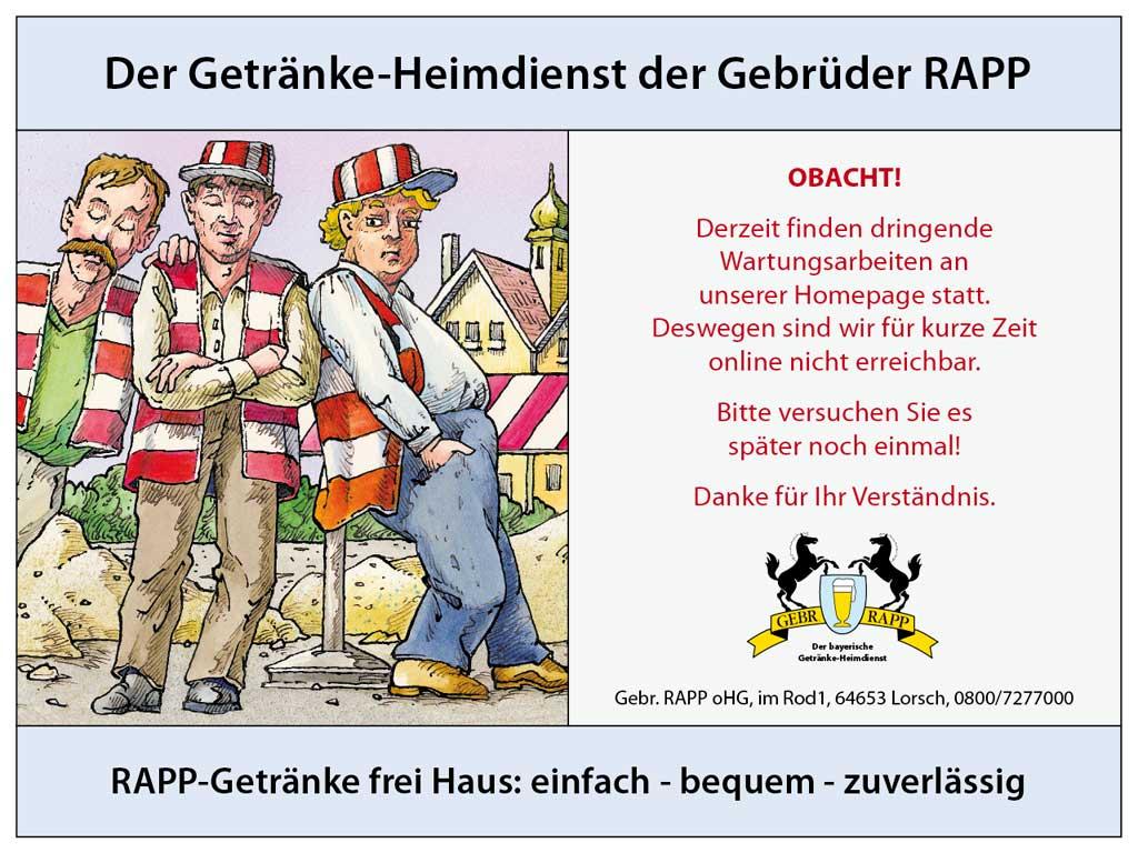 Nett Rapp Getränke Lorsch Bilder - Die Besten Wohnideen - kinjolas.com